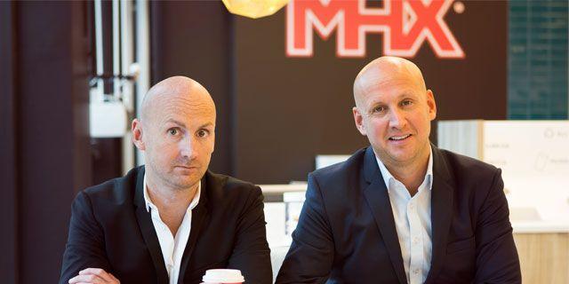 Richard Bergfors, vd, och Christoffer Bergfors, vice vd och Sverigechef på MAX. MAX