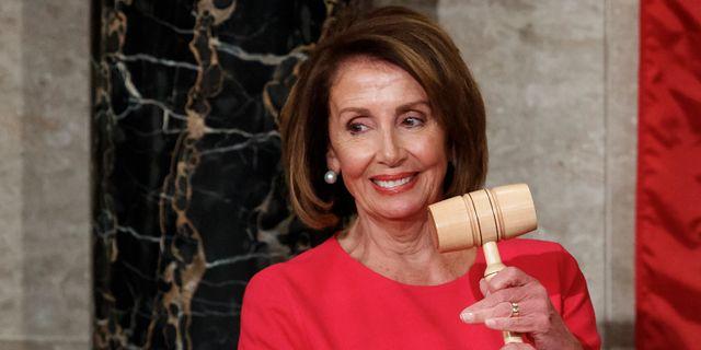 Representanthusets talman, demokraten Nancy Pelosi Carolyn Kaster / TT NYHETSBYRÅN/ NTB Scanpix