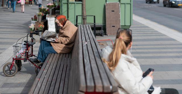 Invånare i Stockholm, arkivbild. ALI LORESTANI / TT / TT NYHETSBYRÅN