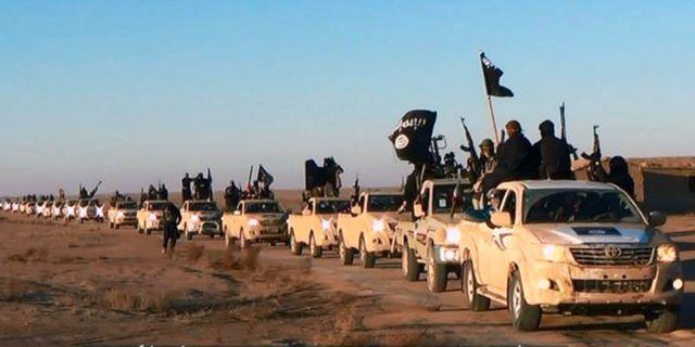 Konvoj med IS-terrorister, arkivbild. Uncredited / TT / NTB Scanpix