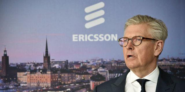 Börje Ekholm. Lars Schröder/TT / TT NYHETSBYRÅN