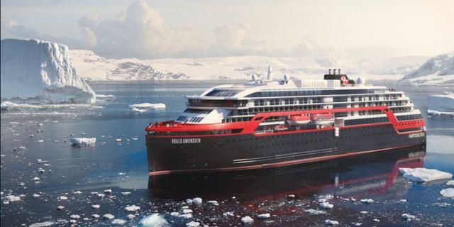 Det nya expeditionsfartyget MS Roald Amundsen ska ta resenärer till platser i Alaska dit de större fartygen inte når. Hurtigruten