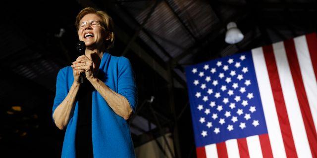 Elizabeth Warren. Patrick Semansky / TT NYHETSBYRÅN