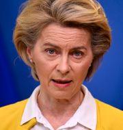 EU-kommissionens ordförande Ursula von der Leyen.  John Thys / TT NYHETSBYRÅN