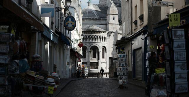Montmartre, Paris. Lewis Joly / TT NYHETSBYRÅN