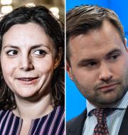 Esil Erlandsson (C)/Paula Bieler (SD)/Erik Bengtzboe (M)/Caroline Szyber (KD) TT.
