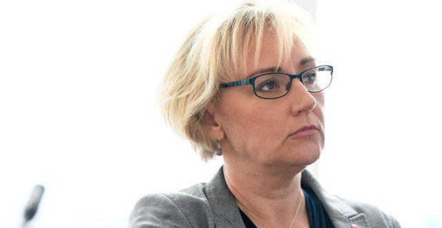 Helene Hellmark Knutsson. Pontus Lundahl/TT / TT NYHETSBYRÅN