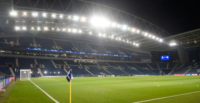 Portos hemmaarena Estadio Dragao. MIGUEL RIOPA / BILDBYRÅN