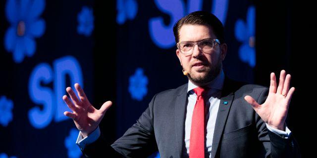 SD:s Jimmie Åkesson Per Groth/TT / TT NYHETSBYRÅN