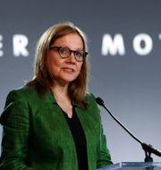 GM-chefen Mary Barra. Arkivbild. Paul Sancya / TT NYHETSBYRÅN