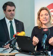 Finansminister Magdalena Andersson (S) och näringsminister Ibrahim Baylan (S)  Bertil Enevåg Ericson / TT / TT NYHETSBYRÅN