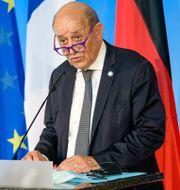 Frankrikes utrikesminister Jean-Yves Le Drian. Jens Schlueter / TT NYHETSBYRÅN