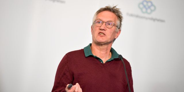 Anders Tegnell. Pontus Lundahl/TT / TT NYHETSBYRÅN