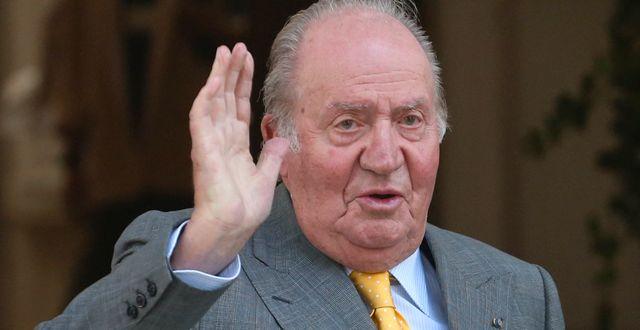 Spaniens tidigare kung Juan Carlos.  Esteban Felix / TT NYHETSBYRÅN