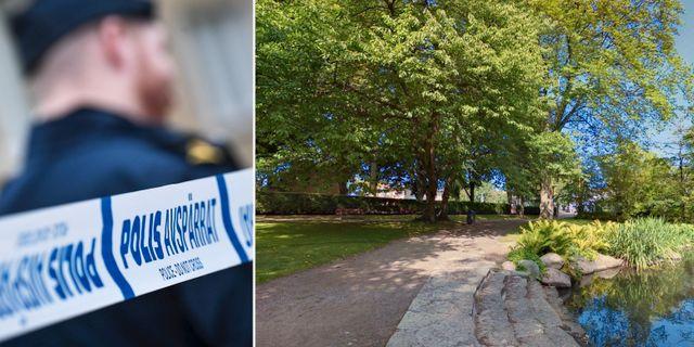 Illustrationsbild/Stadsparken i Kalmar. TT/Google