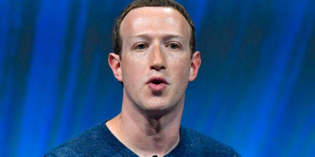 Mark Zuckerberg, arkivbild. GERARD JULIEN / AFP