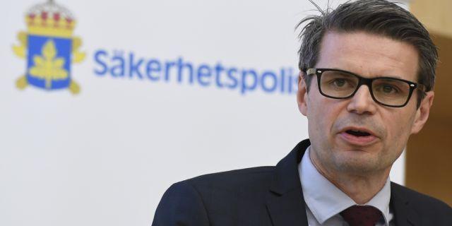Fredrik Hallström. Arkivbild. Janerik Henriksson/TT / TT NYHETSBYRÅN
