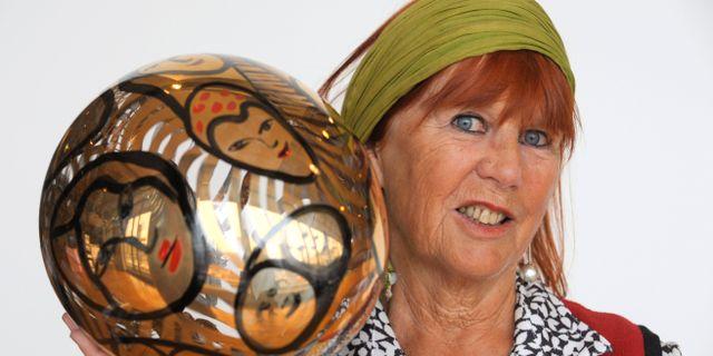 Ulrica Hydman Vallien avled på onsdagen, 79 år gammal. Leif R Jansson / TT / TT NYHETSBYRÅN