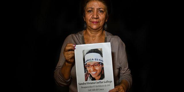 Maria Elena Gallego. LUIS ROBAYO / AFP