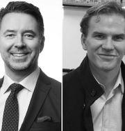 Fredrik Warg, Ekka Lundin och Johan Larsson. Pressbilder