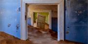 Kolmanskop övergavs av gruvarbetarna och har ekat tom i 60 år. Istock