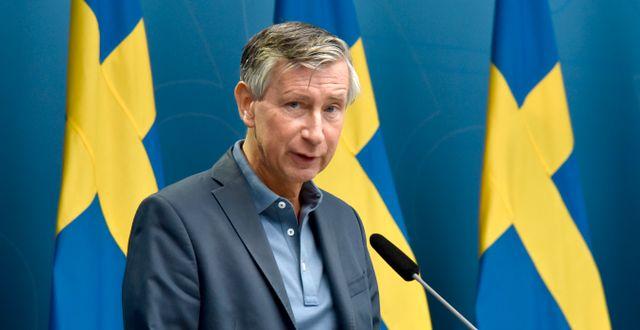 Rikard Bergström. Fredrik Sandberg/TT / TT NYHETSBYRÅN