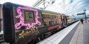 Tågen kan försenas i helgen. Johan Nilsson/TT / TT NYHETSBYRÅN