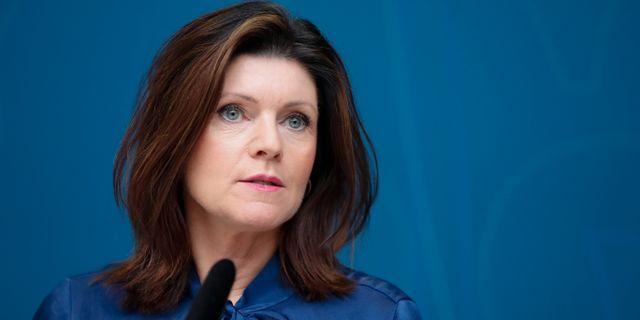 Eva Nordmark.  Christine Olsson/TT / TT NYHETSBYRÅN