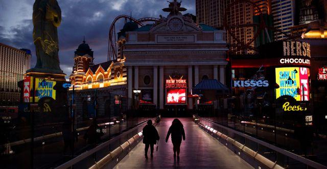 Golden Nugget äger bland annat kasinon i Las Vegas.  John Locher / TT NYHETSBYRÅN