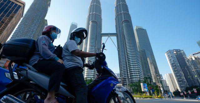 Kuala Lumpur, Malaysia. Vincent Thian / TT NYHETSBYRÅN