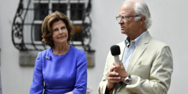 Drottning Silvia och kung Carl Gustaf Erik Simander/TT / TT NYHETSBYRÅN
