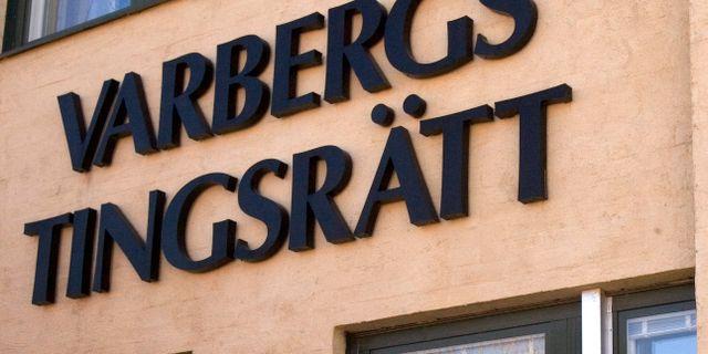Arkivbild, Varbergs tingsrätt. Björn Larsson Rosvall / TT NYHETSBYRÅN