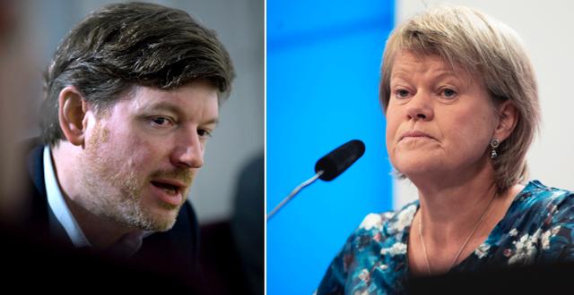 Martin Ådahl (C)/Ulla Andersson (V) TT