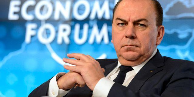 UBS-chefen Axel Weber under World Economic Forum 2015 Laurent Gillieron / TT / NTB Scanpix