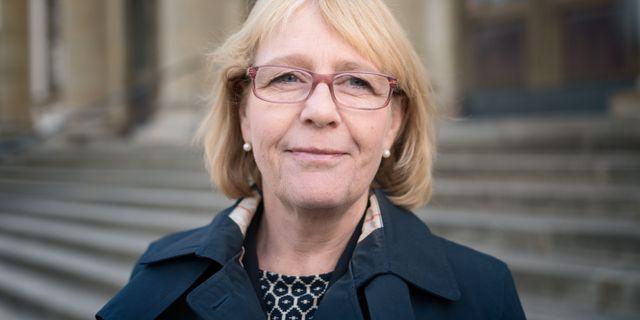 Irene Svenonius (M), finanslandstingsråd.  Adam Wrafter/SvD/TT / TT NYHETSBYRÅN