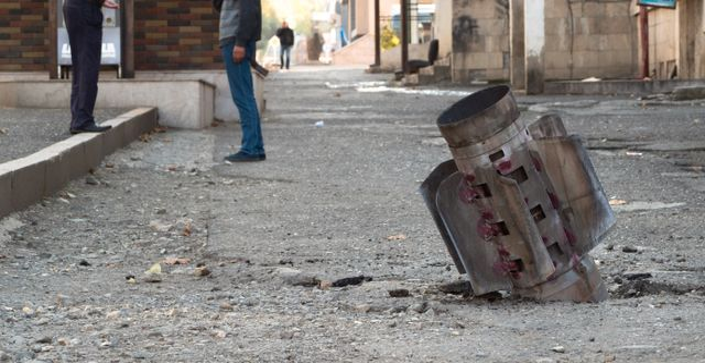 Bild från Nagorno-Karabach.  TT NYHETSBYRÅN