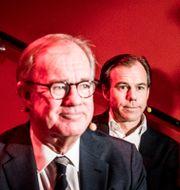 Stefan Persson tillsammans med sonen Karl-Johan Persson. Magnus Hjalmarson Neideman/SvD/TT / TT NYHETSBYRÅN