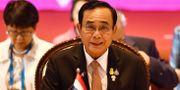 Thailands premiärminister Prayut Chan-O-Cha var värd för mötet. LILLIAN SUWANRUMPHA / AFP