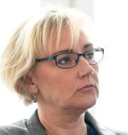 Helene Hellmark Knutsson (S), tidigare minister för högre utbildning och forskning. Numera riksdagsledamot och S-ordförande i Stockholms län. Pontus Lundahl/TT / TT NYHETSBYRÅN