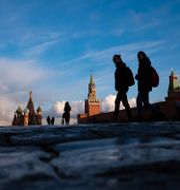Röda torget i Moskva. Alexander Zemlianichenko / TT NYHETSBYRÅN