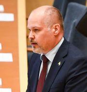 Justitieminister Morgan Johansson. Carl-Olof Zimmerman/TT / TT NYHETSBYRÅN