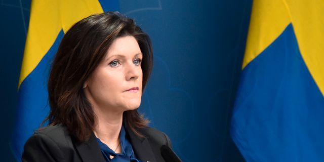 Eva Nordmark. Henrik Säll /TT / TT NYHETSBYRÅN