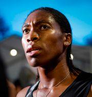 Caster Semenya. En av de kvinnliga idrottare som mött motstånd på grund av sitt höga testosteron. GEOFFROY VAN DER HASSELT / AFP