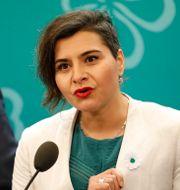 Abir Al-Sahlani (C)  Christine Olsson/TT / TT NYHETSBYRÅN