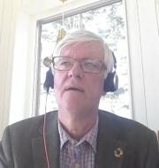 Johan Carlson under fredagens pressträff om riktlinjer för vaccinerade