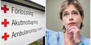 Socialminister Annika Strandhäll. TT Nyhetsbyrån