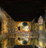 När världens största digitala koncenter har premiär i Bordeaux 17 april visas en megautställning med Gustav Klimts verk. Culturespaces