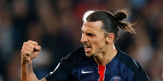Nu är Zlatan historisk – 110 mål i PSG - Omni 5b314ac7255c5