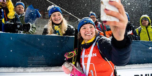 Linn Persson den 8/12. JOHANNA LUNDBERG / BILDBYRÅN