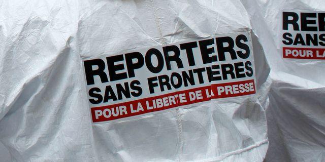 Reportrar utan gränser. Thibault Camus / TT NYHETSBYRÅN